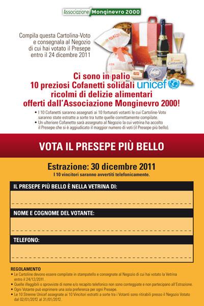 Cartolina Voto