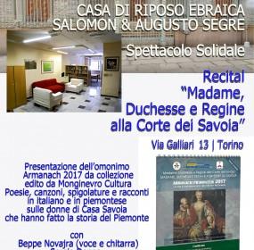 Locandina 4. Casa di Riposo Ebraica - Via Galliari 13